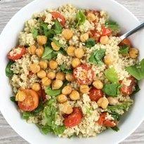 quinoa salad w parmigiana