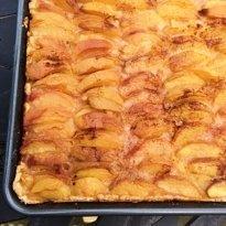 dutch peach cake