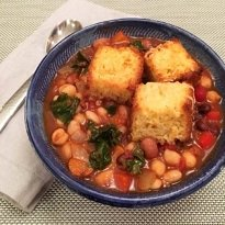 five bean veggie chili