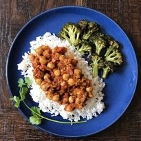 cozy chickpea curry