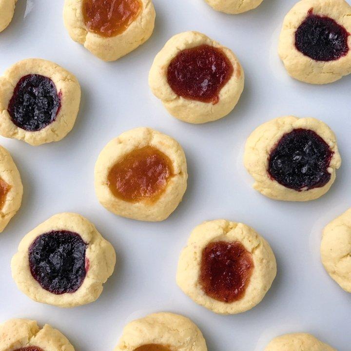 thumb print cookies